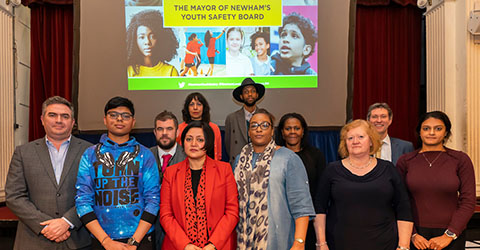 The Mayor of Newham joins the Youth Safety Board to work together to end violence against young people.