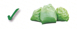 An image showing how to present your commercial waste